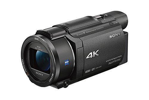 ソニー SONY ビデオカメラ FDR-AX55 4K 64GB 光学20倍 ブラック Handycam FDR-AX55 BC