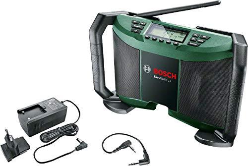 Preisvergleich Produktbild Bosch Akku Radio EasyRadio 12 (ohne Akku,  12 Volt System,  im Karton)