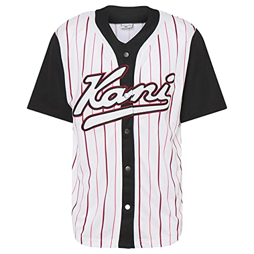 Karl Kani KK Varsity Block Pinstripe - Pelota de béisbol (talla XL)