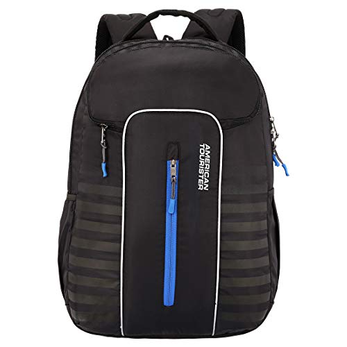 American Tourister Yongo 47 cms Black Casual Backpack (FU8 (0) 09 001)