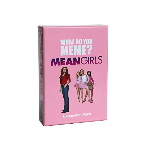 WHAT DO YOU MEME? Paquete de expansión Mean Girls
