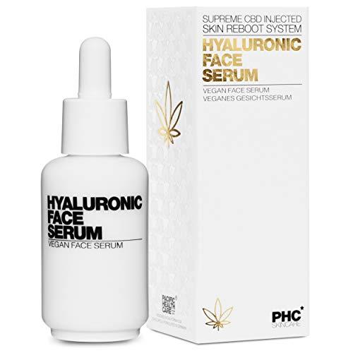 NEU: Hyaluron Face Serum - VERONA POOTH x PHC - Hyaluronsäure Serum mit CBD hochdosiert - mit SEHR GUT ausgezeichnet - bewiesene Anti Aging gegen Falten im Gesicht & Haut - vegan