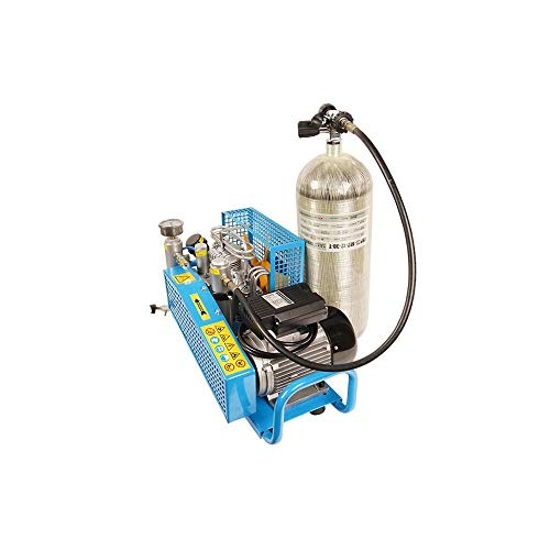 TUXING 300Bar High Pressure Diving Compressor PCP Air Compressor Auto Stop for Scuba Breathing Snorkeling Water Sport Paintball 110V