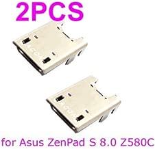 PHONSUN USB Charging Port Replacement for Asus ZenPad S 8.0 Z580C P01M Tablet (Pack of 2)