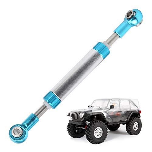 Alomejor RC Car Servo Link Rod Aluminiumlegierung 1/10 RC Car Verbesserte Teile für 1/10 RC Crawler Axial SCX10(80-86 mm)