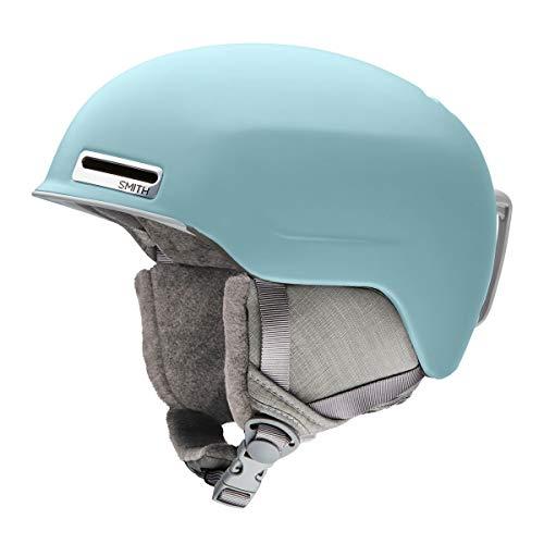 Smith Optics Allure アジアンフィット 大人用 スキー スノーモービル ヘルメット (マットポーラーブルー、...