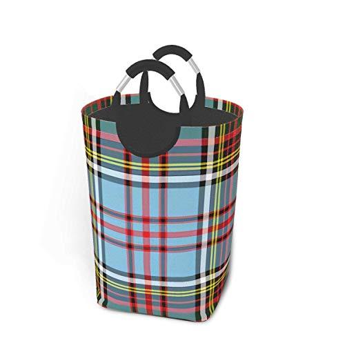Andersons - Cesto para colgar ropa sucia, diseño de tartán antiguo
