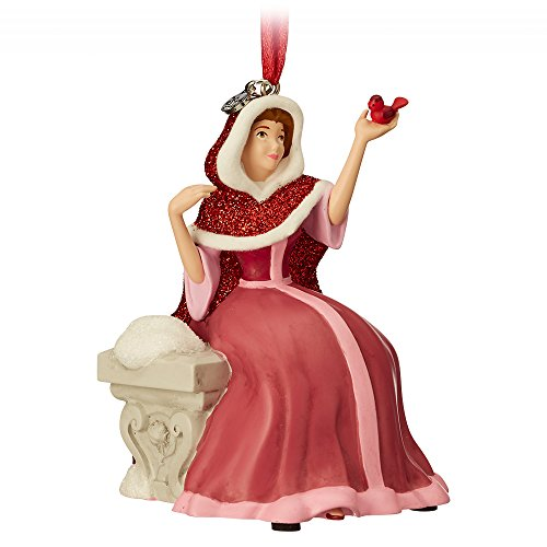 Disney Belle Singing Sketchbook Ornament - Beauty and The Beast