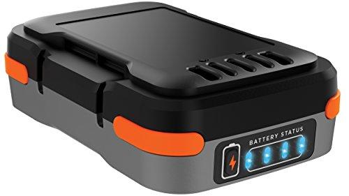 BLACK+DECKER BDCB12B-XJ - Batería de litio portátil 12 V, USB, 1.5 Ah