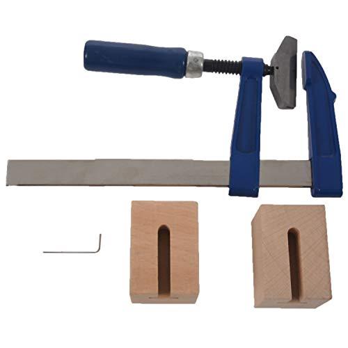 Jaimenalin 1 Set F Press Inserts Tool Para Guitarra Y Bajo (Sin Calafón De Presión Del Traste) Azul