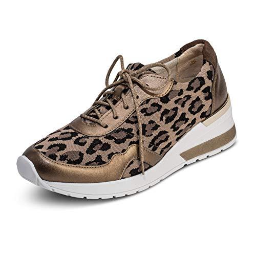 VITAFORM® Damen Sneaker Stretch Weite H (Leopard, Numeric_40)