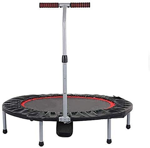 Fitness Trampoline met handvat Indoor Trampoline Folding Maximale belasting 150kg, Diagonal Side Diameter 103cm