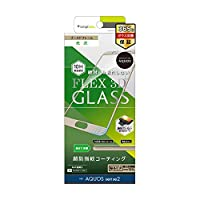 Simplism (シンプリズム)AQUOS sense 2 [FLEX 3D] 立体成型フレームガラス ゴールド TR-AQS2-G3-CCGD