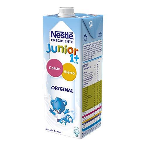 pequeño y compacto Nestlé Junior Junior Growth 1+ 1 L 6530 g – 1 L Paquete de 6 piedras.