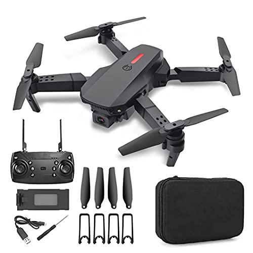 JJDSN Drone con Fotocamera 4K, Mini quadricottero WiFi a 2,4 GHz, Drone RC Professionale con modalità Senza Testa, Mantenimento dell'altitudine.