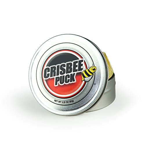 Crisbee Puck Original Cast Iron Seasoning - Family Made in USA - The Cast Iron Seasoning Oil & Conditioner Preferred by Experts