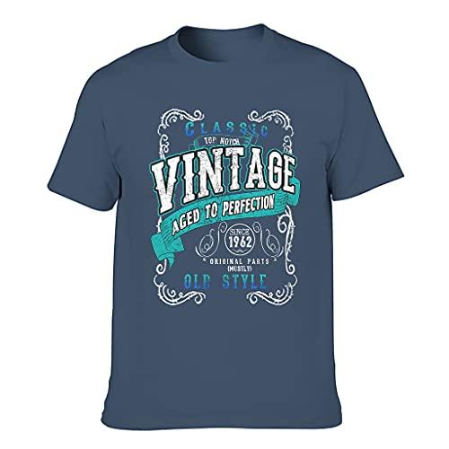 Vintage 1962 Aged Perfection Camisetas - Regalos de cumpleaños retro para hombres camisa de manga corta