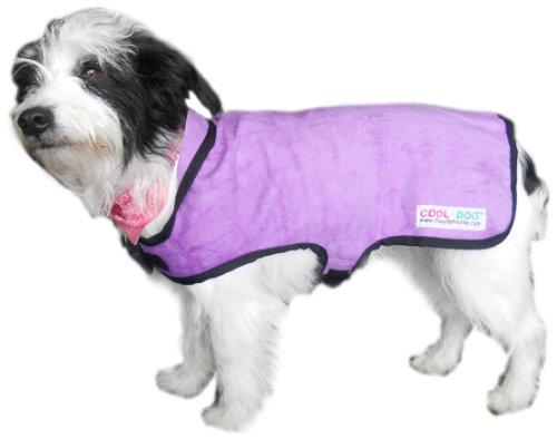 Prestige Cool Manteau pour Chien Taille S (Violet)