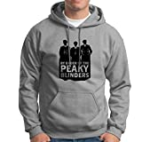 SONSECAR Sudadera Peaky Blinders. Thomas Shelby. The Garrison. Red Right Hand. XL