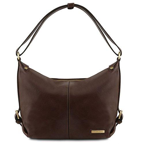 Tuscany Leather Sabrina - Borsa in pelle da donna - TL141479 (Testa di Moro)