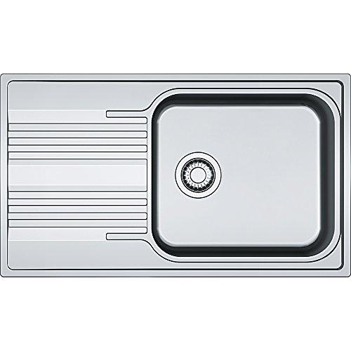 Franke 101.0368.321 in Acciaio Inox di Seta per lavello da Cucina – Grigio, Grey