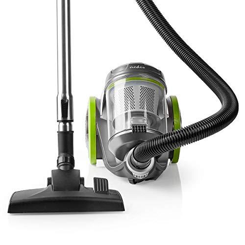 NEDIS Aspirateur   sans Sac   700 W   Capacité de poussière: 3.5 l   Combi Brosse   Rayon d'action: 8 m   Filtre à air HEPA   Anthracite/Vert