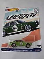 ホットウィール Hot Wheels ALFA ROMEO GIULIA SPRINT GTA アルファロメオ ジュリア スプリント EURO SPEED ユーロスピード