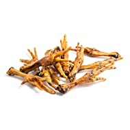 1kg Natural Dried Chicken Feet Dog Treat Chew Grain & Gluten Free Supplied By JR Pet Products