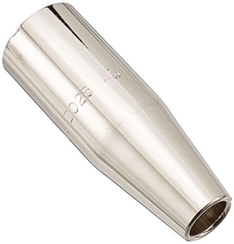 Preisvergleich Produktbild Abicor Binzel 145.D025 Gasdüse für Schweißbrenner,  konisch,  12 mm x 25 mm Durchmesser,  72 mm Länge,  5 Stück
