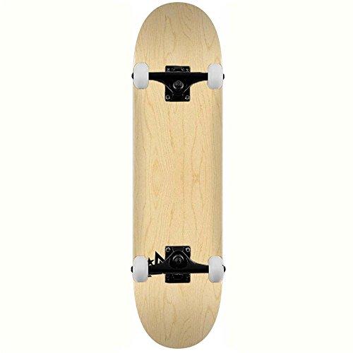 Powell Mini Logo Skateboards Chevron # 181Birke komplett Skateboard natur 21,6cm