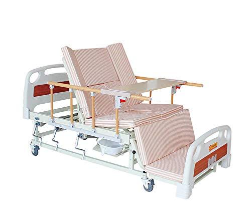 HYDDG Handbuch 5 Funktionen Home Gebrauchte Krankenhaus Pflegebett mit Kommode, verstellbare bewegliche Betten für Home Use-Anbieter