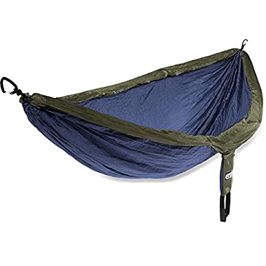 ENO Eagles Nest Outfitters - DoubleNest Hammock, Portable Hammock for Two, Navy/Olive