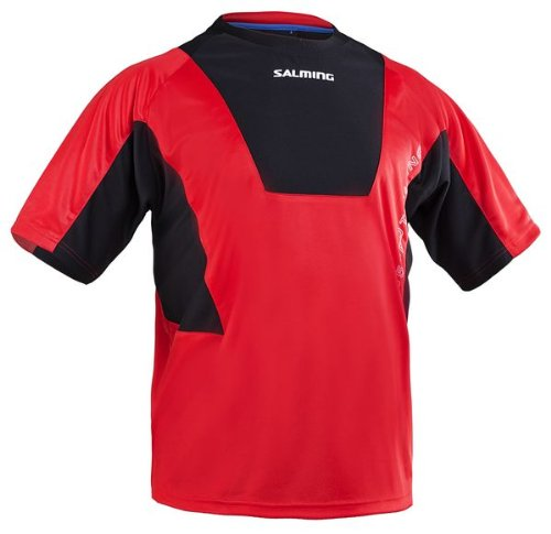 Salming 365 Training Tee Rouge/Noir Taille L