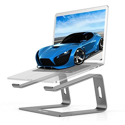 BoYata Soporte Portatil, Laptop Stand, Aluminio Soporte Laptop, Soporte Ordenador Compatible con MacBook, DELL, Samsung, Lenovo de 11-15.6' Portátil