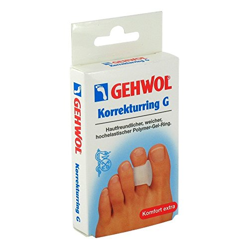 GEHWOL Polymer Gel Korrekturring G, 3 St