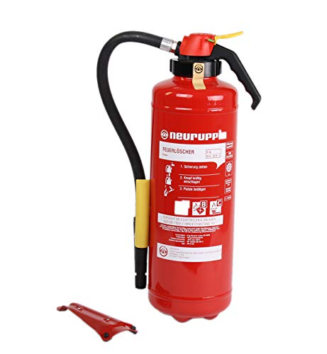 ABC 6kg Pulverfeuerlöscher PG 6 AS Neuruppin 12LE Aufladelöscher und Instandhaltungsnachweis von Feuerlöscher-Tauschsystem
