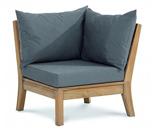 BEST Lounge Eckteil zu Teak Moretti, grau