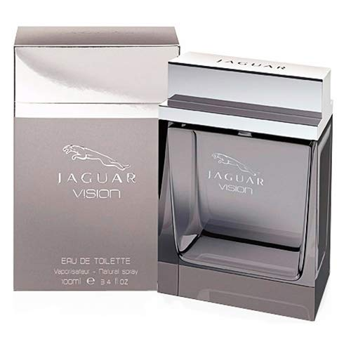 Jaguar Fragrances Vision Eau de Toilette, voor heren, natural spray, 100 ml
