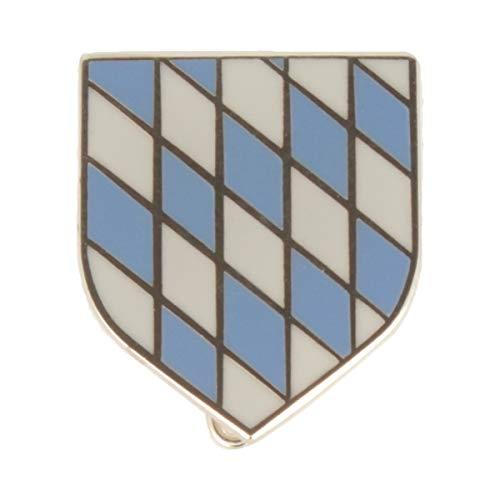 Hutanstecker | Hutabzeichen | Hutschmuck | Anstecker – Bayrisches Wappen – 1,5 x 1,5 cm - MADE IN GERMANY