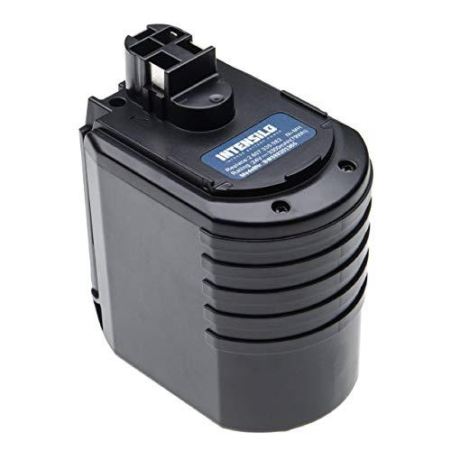 INTENSILO batería compatible con Bosch 0 611 260 539, 11225VSR, 11225VSRH, BBH24VRE, BTI BHE 24VRE herramienta eléctrica (3300mAh, 24V, NiMH)