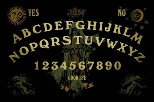 Dark Horse Comics - Hellboy planche de divination