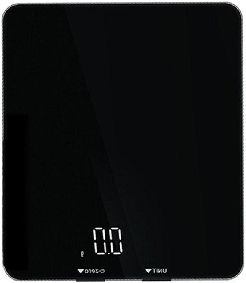 Báscula digital multifunción de cocina con pantalla táctil para un peso preciso de mililitros, el mejor regalo para la báscula digital de gramos.