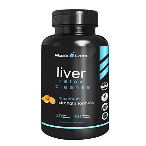 Liver Cleanse Detox Energy Formula - New - with Vitamin C, Vitamin B6, Folic Acid Plus Vitamin B12 - Proprietary Blend of N-Acetyl-L-Cysteine, Choline,...