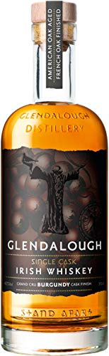 Glendalough Single Cask Grand Cru Burgundy Finish Whisky (1 x 0.7 l)