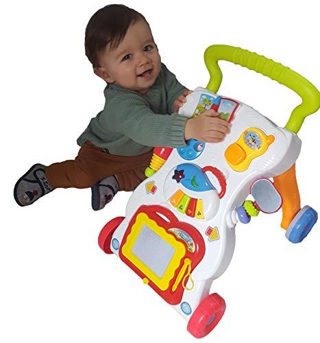 Laufwagen mit Zeichentafel, Piano und kleinem Telefon - 2