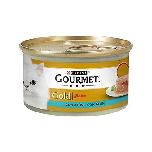 GOURMET Gold Fondant ATUN 24 x 85 GR, zwart, standaard