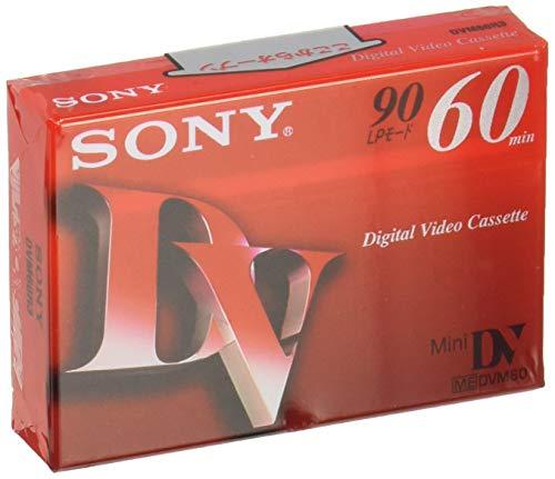 ソニー ミニデジタルビデオカセット 1巻パック DVM60R3