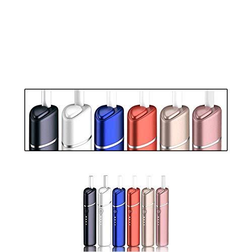 UWOO Y1 メーカー 純正 交換 キャップ 加熱式たばこ 互換機 互換 本体 スターターキット 加熱式電子タバコ 電子タバコ 大容量 バッテリー 3200mAh 40本連続 4段階 温度調整 時間調整 自動クリーニング (パールホワイト)