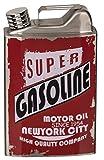 MC Trend - Bidón de Gasolina de Acero Inoxidable, para Whisky, Alcohol, Bebidas, Ideal como Regalo, Estilo Schabby, para Deportes de Motor, bidón de Gasolina