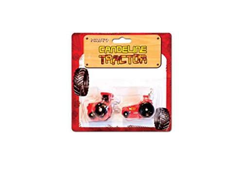 SWEEPING PARTY 57494 Candeline Compleanno Trattore - Tractor Candles Torta